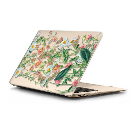 MacBook Air Retina 13 Sleeves - Windy meadow - pastel flowers