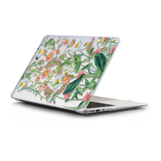 MacBook Air 13 Sleeves - Windy meadow - pastel flowers