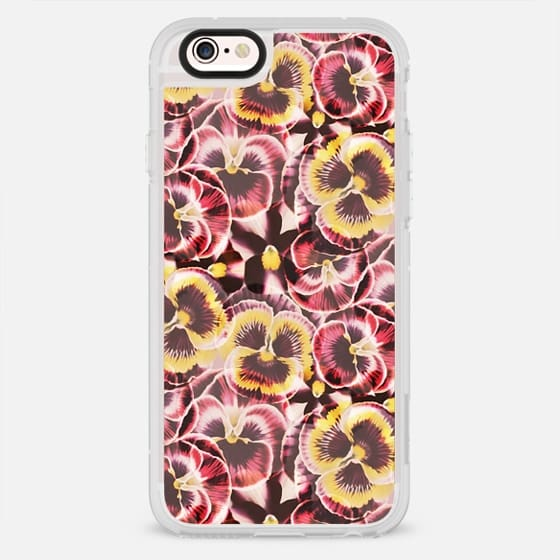 Red Yellow Pansy petals - New Standard Case