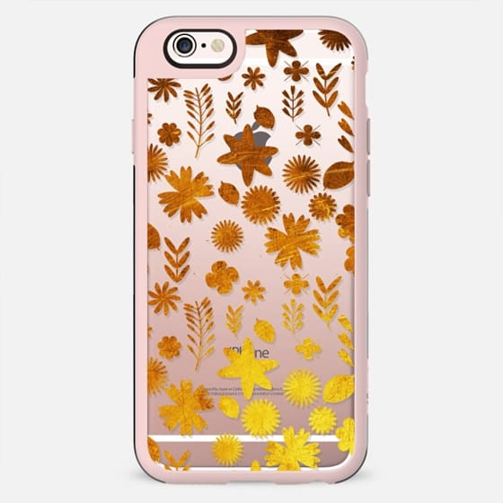 Golden flowers and foliage - New Standard Case