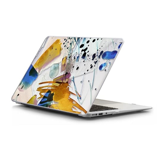 MacBook Air 13 Sleeves - Playful colorful abstract paint