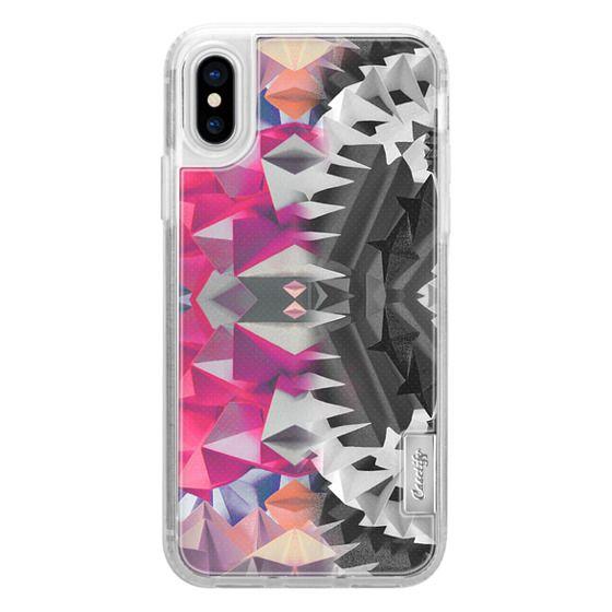 iPhone 7 Plus Cases - Gradient origami geometric pattern