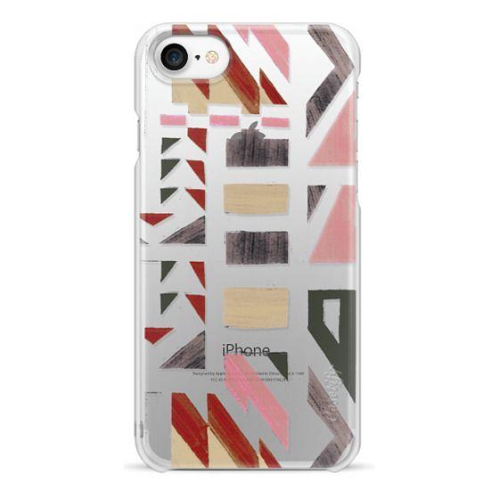 iPhone 7 Plus Cases - Primitive tribal geometric pattern