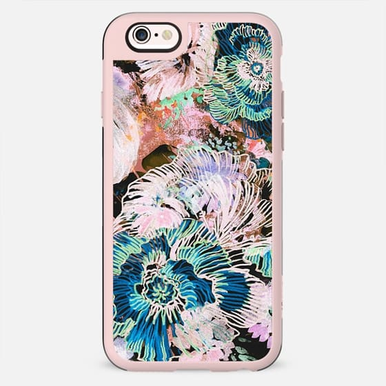 Brushed painted flowers - New Standard Case
