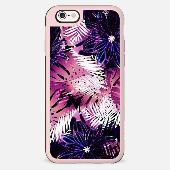 Dark tropical print - New Standard Case