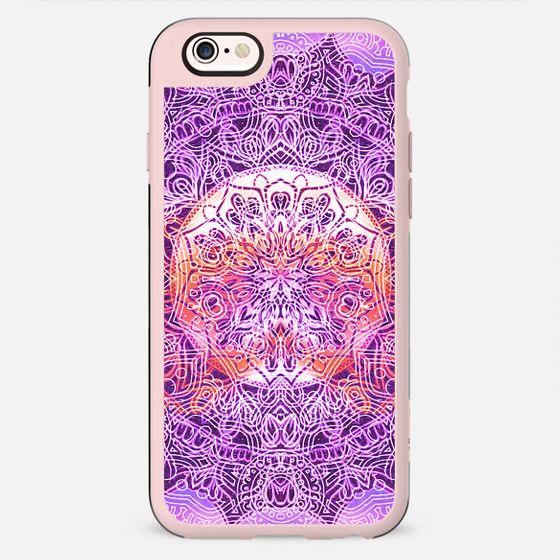 Purple festival mandala - New Standard Case