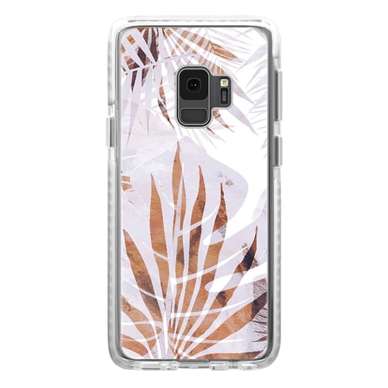 iPhone 6s Cases - Pastel romantic palm and ficus leaves