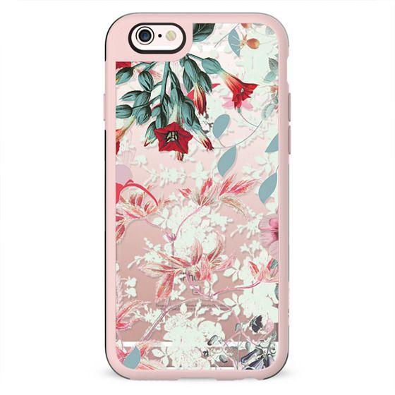 Romantic floral botanical art