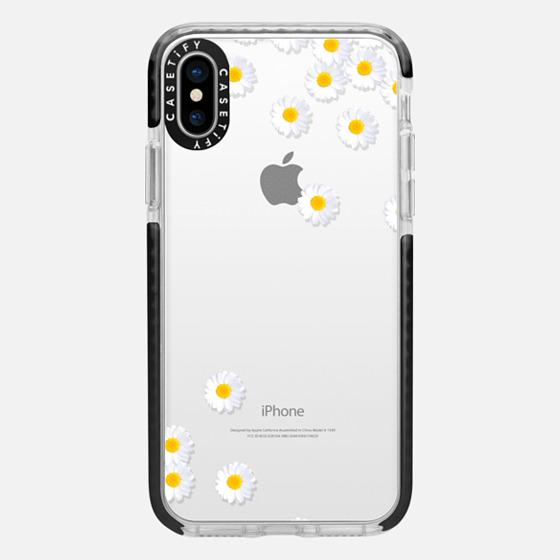 DAISY RAIN Crystal Clear iPhone Case