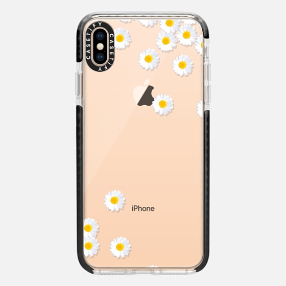 DAISY RAIN Crystal Clear iPhone Case