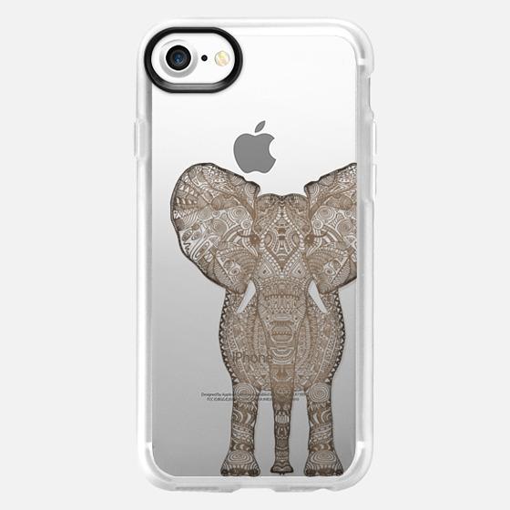 VINTAGE ELEPHANT for Samsung Galaxy S4 transparent case - Wallet Case