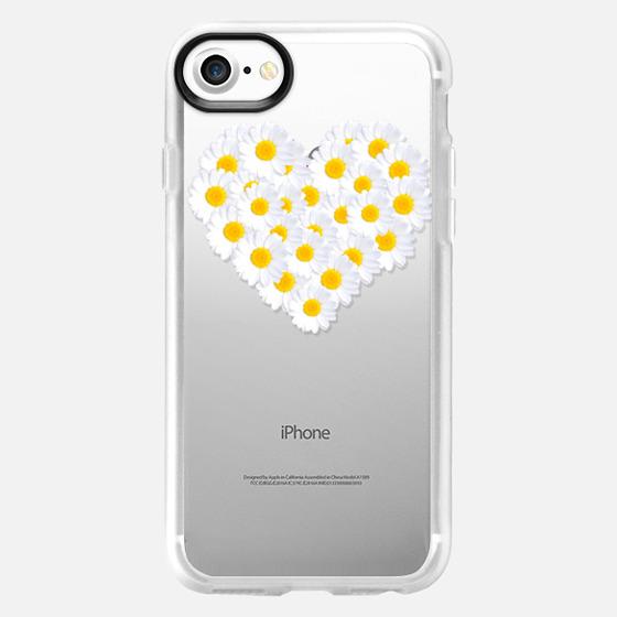 DAISY HEART iPhone 5 Transparent -