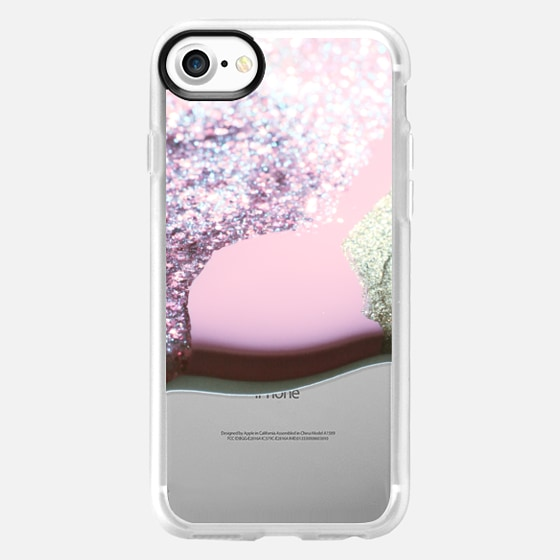 LIQUID PINK iPhone 6 plus by Monika Strigel -