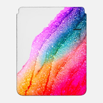 "iPad Pro 12.9"" Sleeve FLAWLESS RAINBOW Faux Glitter by Monika Strigel iPAD mini"