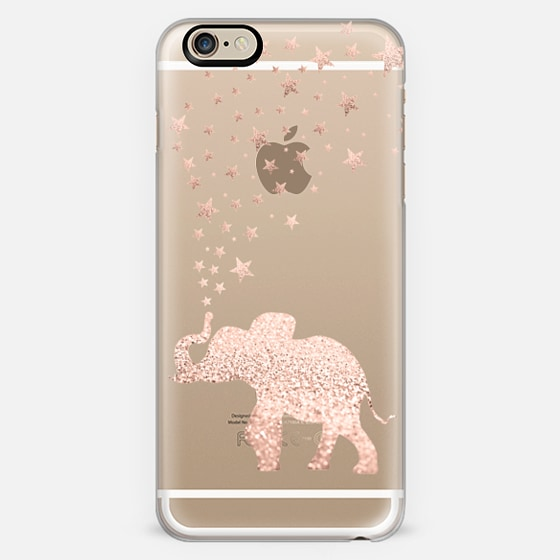 happy elephant rose gold iphone 5 5s by monika strigel. Black Bedroom Furniture Sets. Home Design Ideas