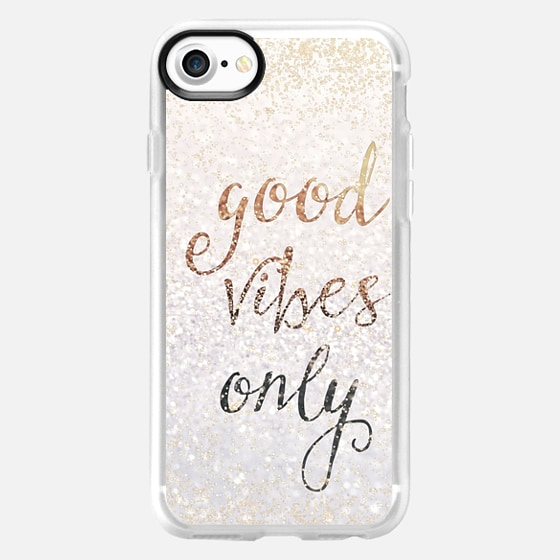 GOOD VIBES ONLY iPhone 5c by Monika Strigel - Wallet Case