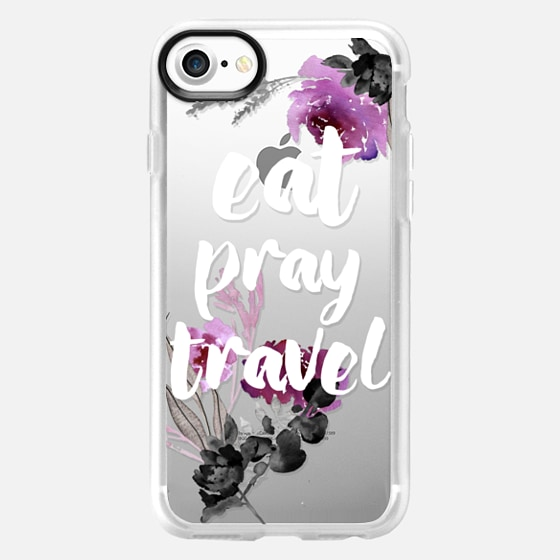 EAT PRAY TRAVEL by Monika Strigel - Wallet Case