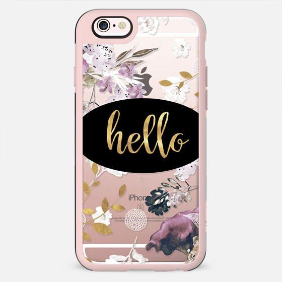HELLO ROSES by Monika Strigel - New Standard Case