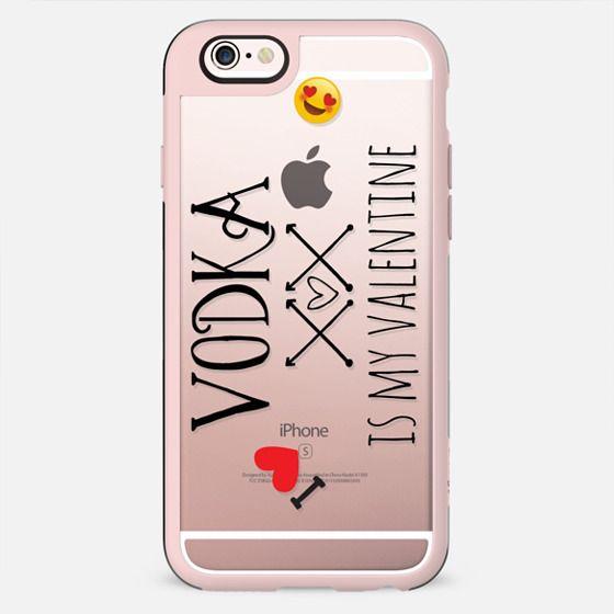 VODKA IS MY VALENTINE by Monika Strigel Valentines Collection - New Standard Case