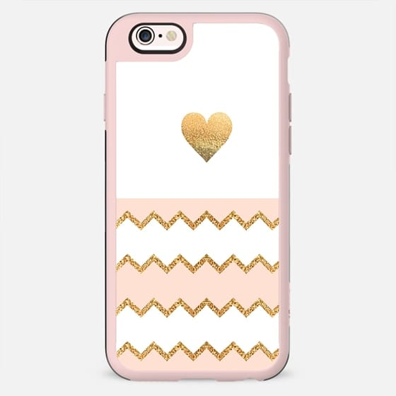 AVALON PEACH HEART Galaxy S6 Edge by Monika Strigel