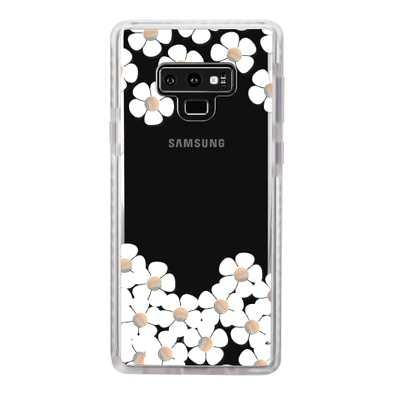 Samsung Galaxy Note 9 Cases - GOLD DAISY RAIN iPhone 6 by Monika Strigel