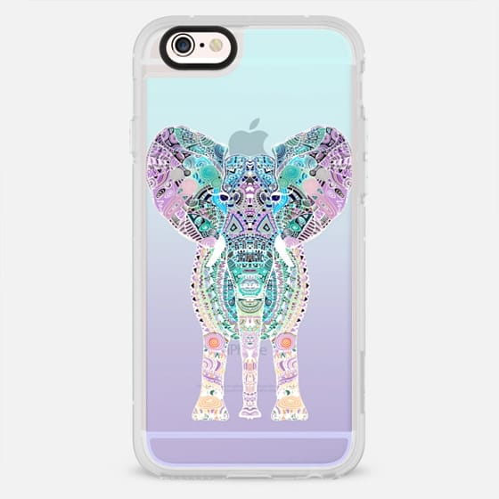 GYPSY ELEPHANT MINT OMBRE SPLASH by Monika Strigel - New Standard Case