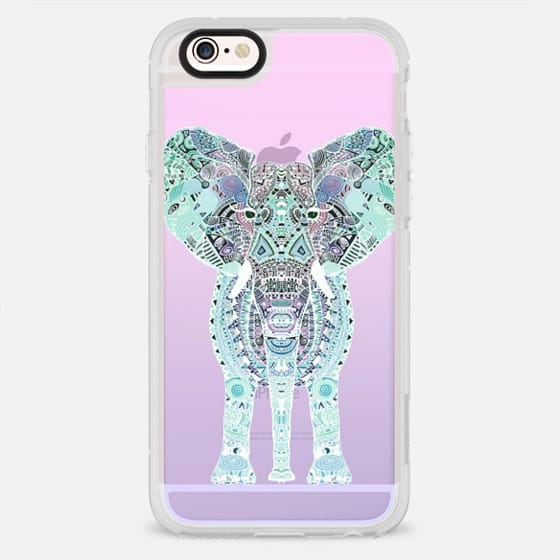 GYPSY ELEPHANT PINK OMBRE by Monika Strigel - New Standard Case
