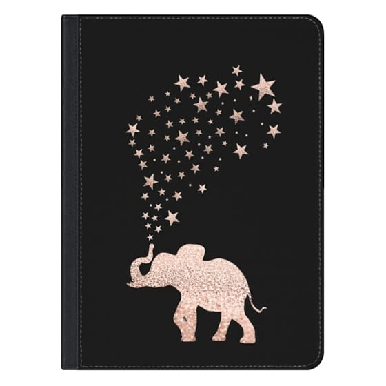 12.9-inch iPad Pro Covers - ROSEGOLD HAPPY ELEPHANT by Monika Strigel for iPad Pro