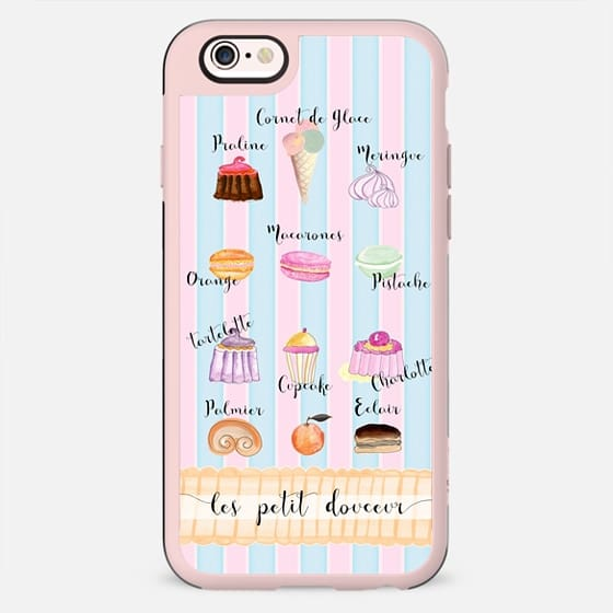 FRENCH PASTRIES & STRIPES by Monika Strigel - New Standard Case