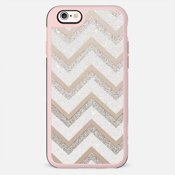 NUDE CHEVRON HTC one M9 by Monika Strigel - New Standard Case