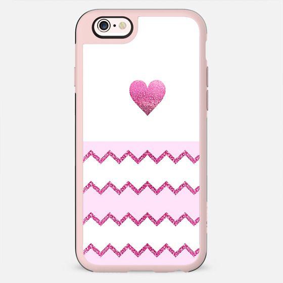 AVALON PINK HEART Galaxy S6 by Monika Strigel - New Standard Case
