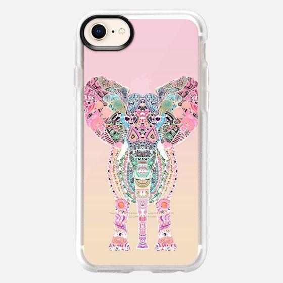 GYPSY ELEPHANT OMBRE SUNSET by Monika Strigel - Snap Case