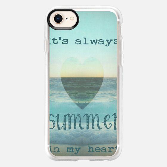 SUMMER IN MY HEART by Monika Strigel - Snap Case