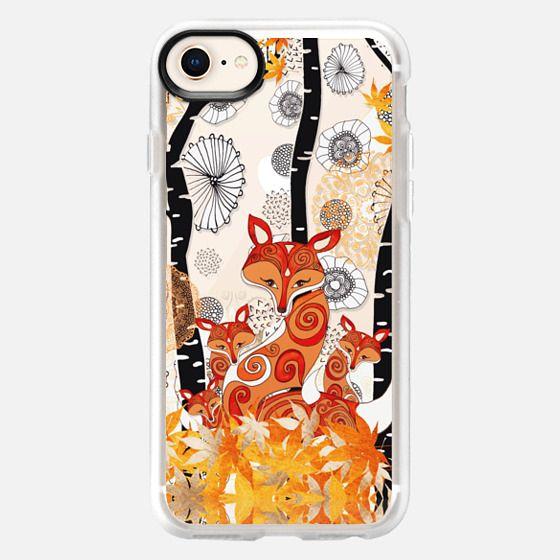 HELLO FOX! by Monika Strigel - Snap Case
