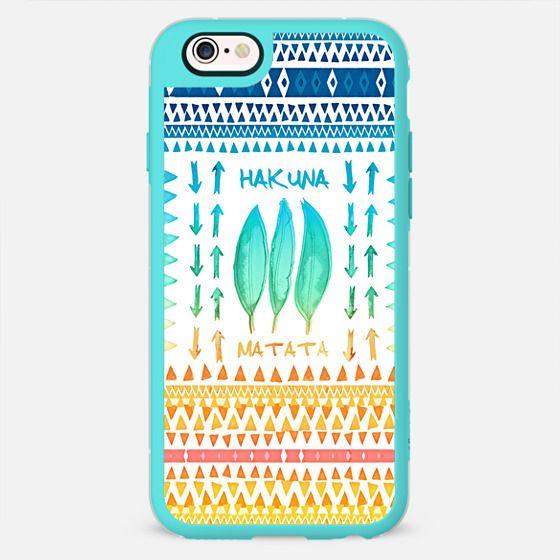 HAKUNA MATATA - OCEAN BREEZE by Monika Strigel -