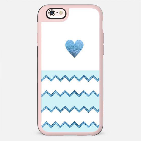 AVALON BLUE HEART Galaxy A8 by Monika Strigel