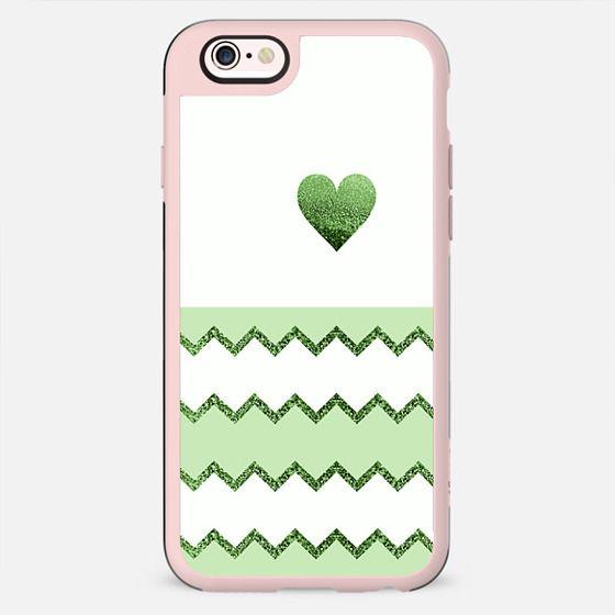 AVALON LIME HEART Galaxy S4 by Monika Strigel