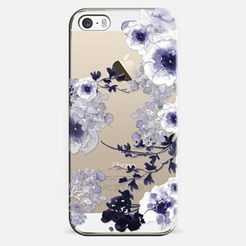 iPhone 5s Case BLUE SPRING by Monika Strigel