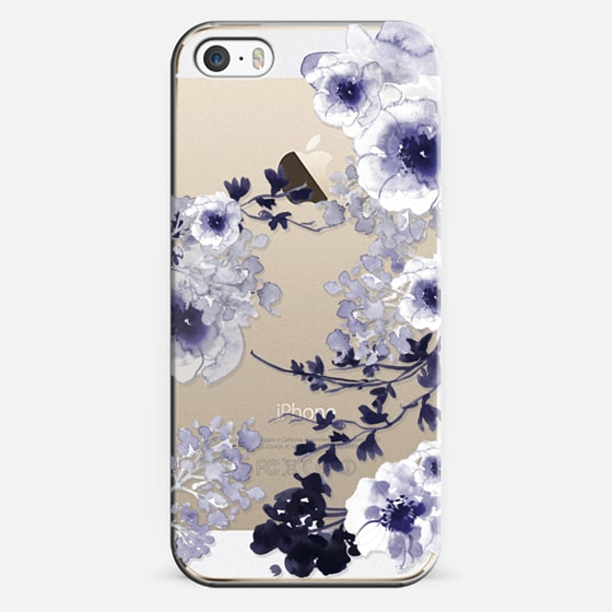 iPhone 5s Capa - BLUE SPRING by Monika Strigel