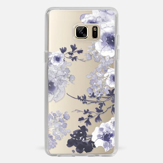 Galaxy Note 7 Case - BLUE SPRING by Monika Strigel