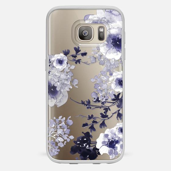 Galaxy S7 Hülle - BLUE SPRING by Monika Strigel