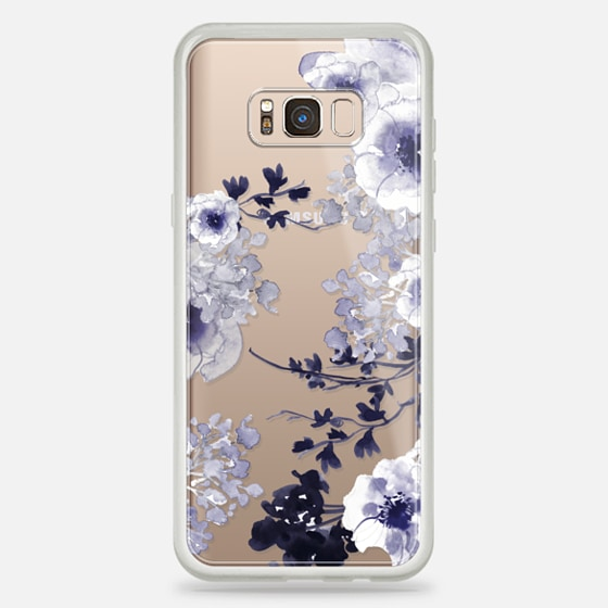 Galaxy S8+ Hülle - BLUE SPRING by Monika Strigel