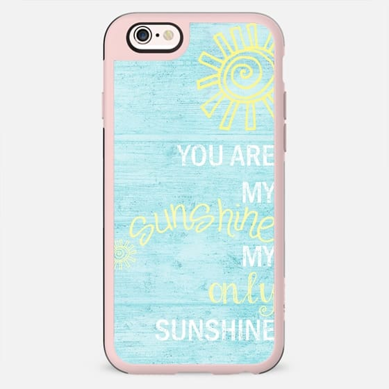 YOU ARE MY SUNSHINE by Monika Strigel - New Standard Case