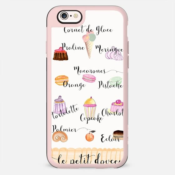 FRENCH PASTRIES WHITE by MONIKA STRIGEL - New Standard Case