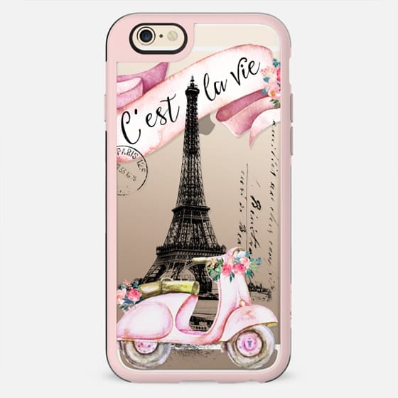 TAKE A RIDE PINK by Monika Strigel - New Standard Case