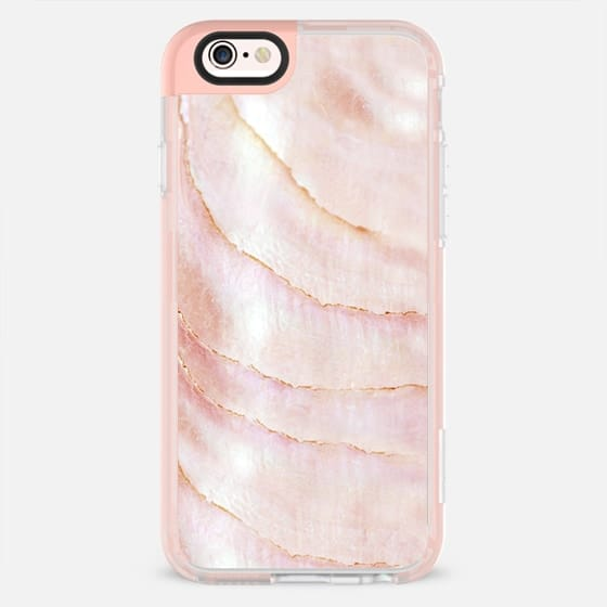 IRIDISCENT SEASHELL PEACH by Monika Strigel iPHone 7 -