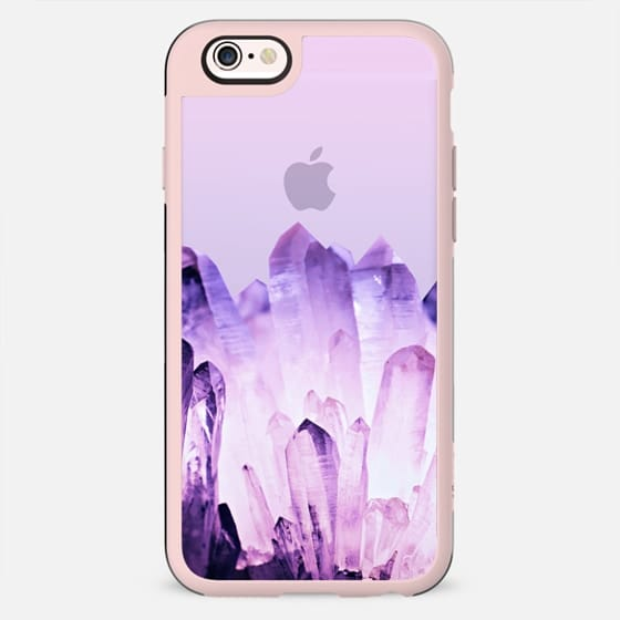 FADING CRYSTAL LAVENDER by Monika Strigel - New Standard Case