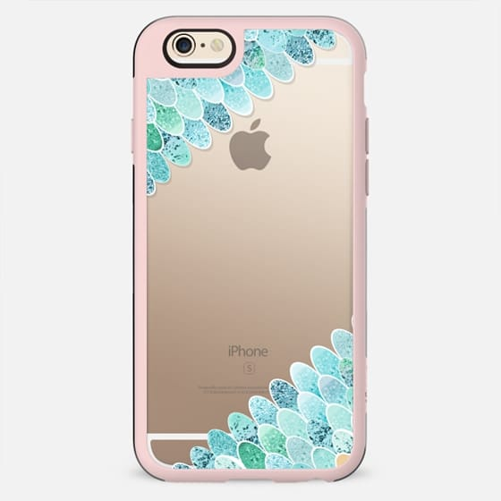 MERMAID GLITTERS MINT by Monika Strigel - New Standard Case