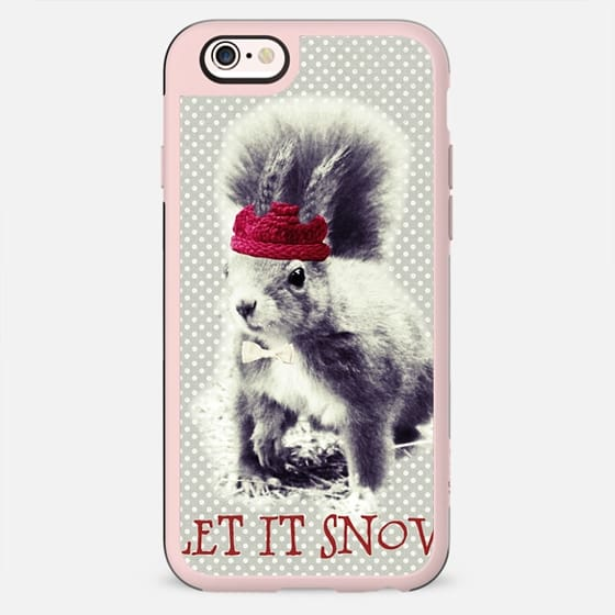 LET IT SNOW by Monika Strigel - New Standard Case