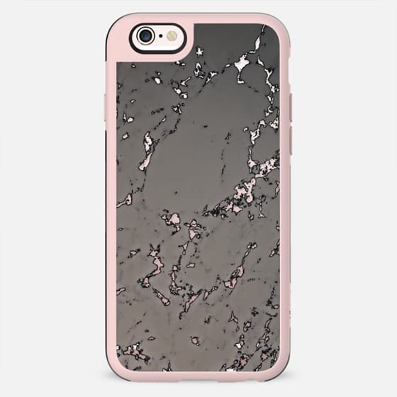 WASHED OUT DARK MARBLE by Monika Strigel - New Standard Case